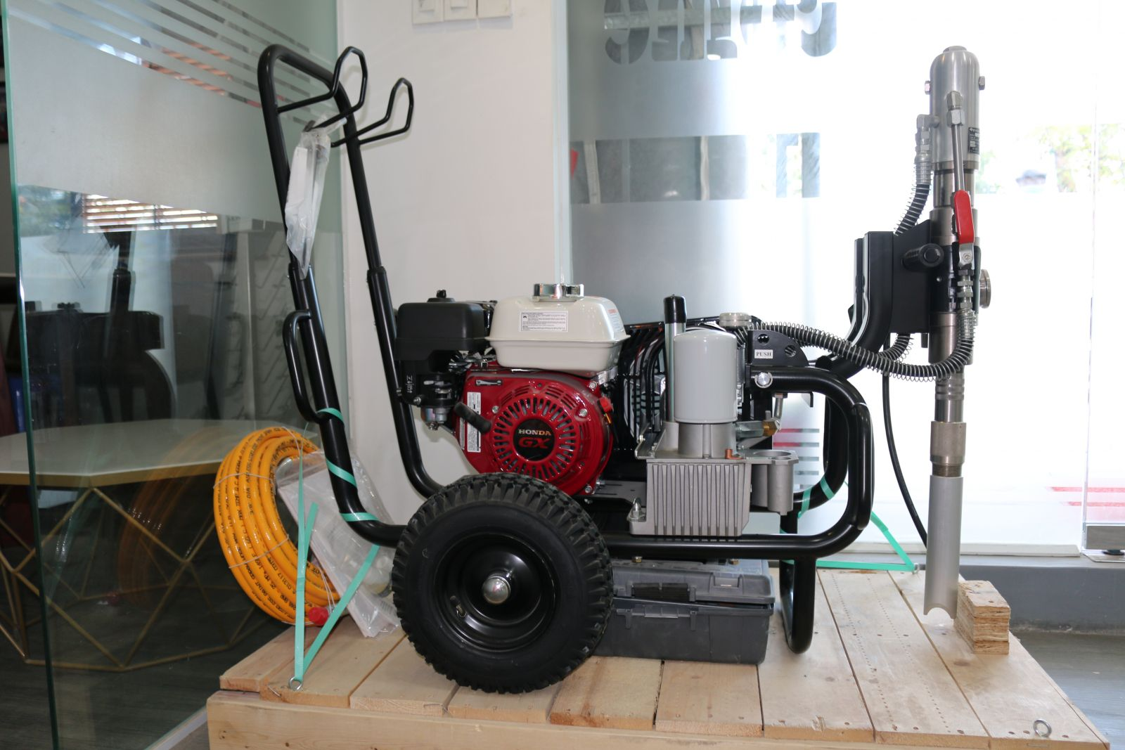 Máy phun sơn wagner hc950