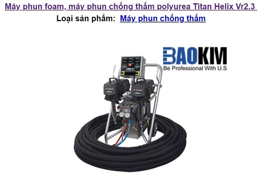 Máy phun chống thấm Titan Helix Vr2.3