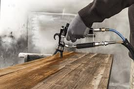 máy phun sơn gỗ công nghiệp